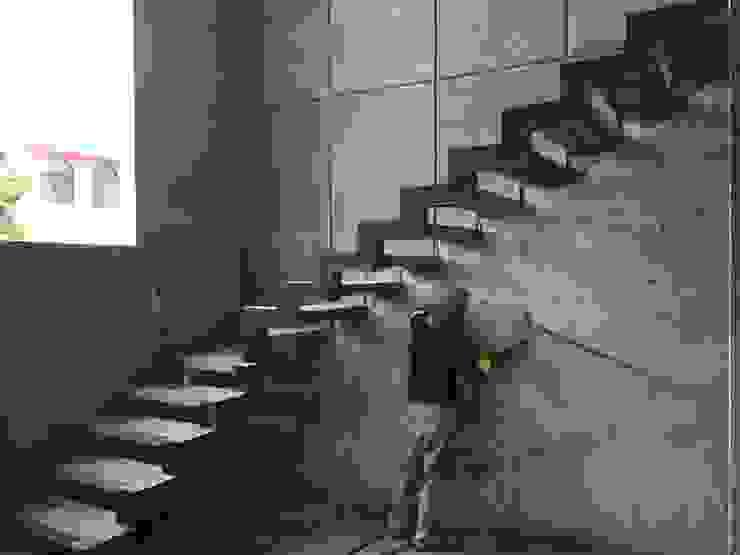 Minimalist corridor, hallway & stairs by Ma&Co Minimalist Reinforced concrete