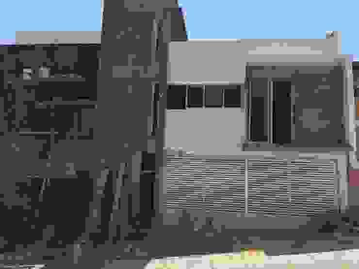 fachada principal Ma&Co Casas minimalistas