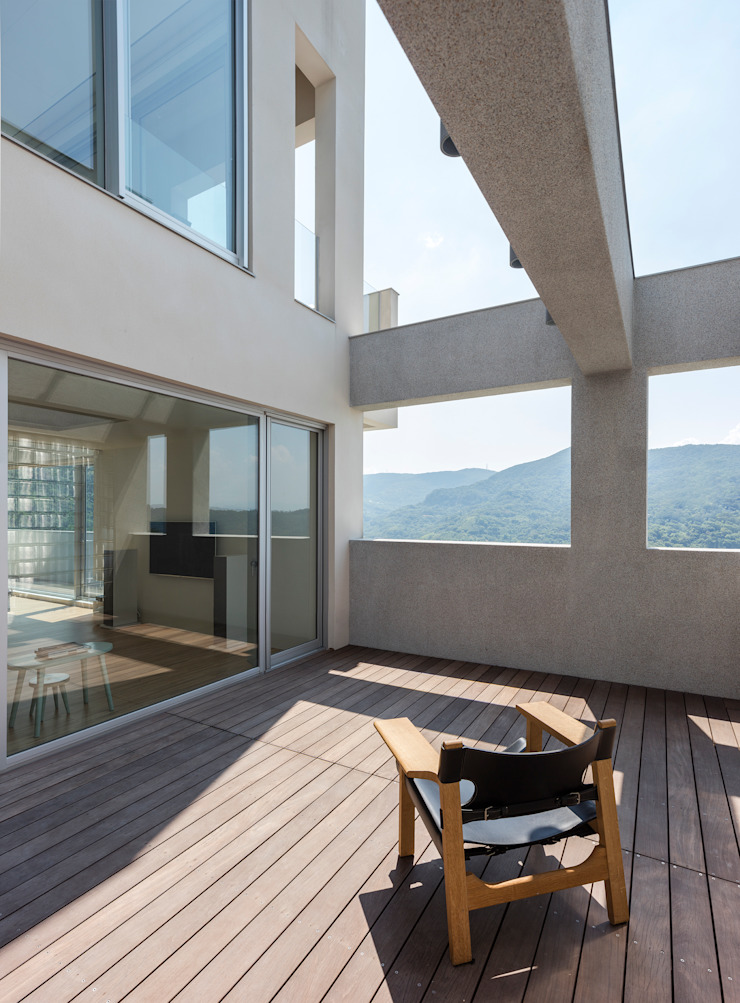陽明山鄭宅 House C 根據 何侯設計 Ho + Hou Studio Architects 簡約風