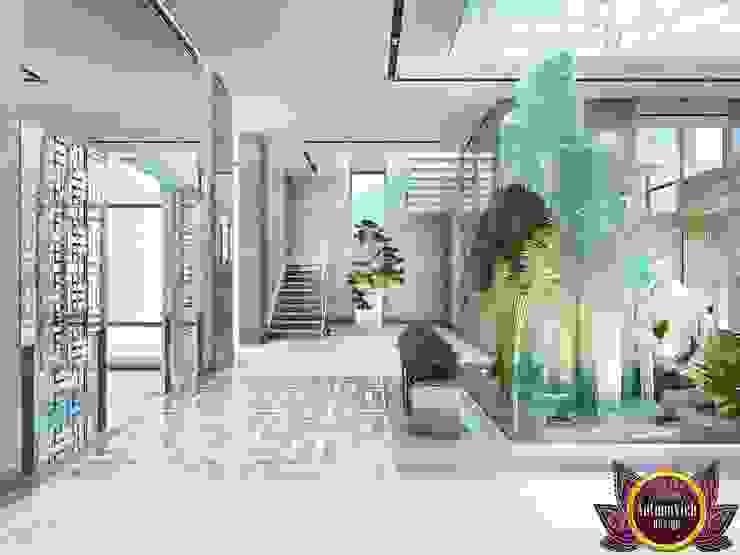 الممر الحديث، المدخل و الدرج من Luxury Antonovich Design حداثي
