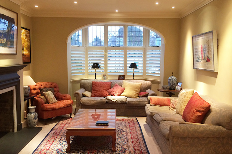 classic  by Plantation Shutters Ltd, Classic Wood Wood effect