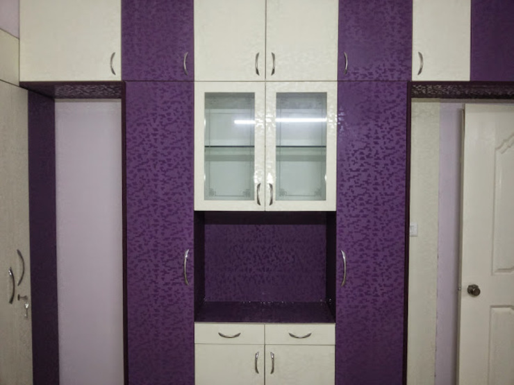 Interiors Residential Modern kitchen by Swastik Interiors Modern