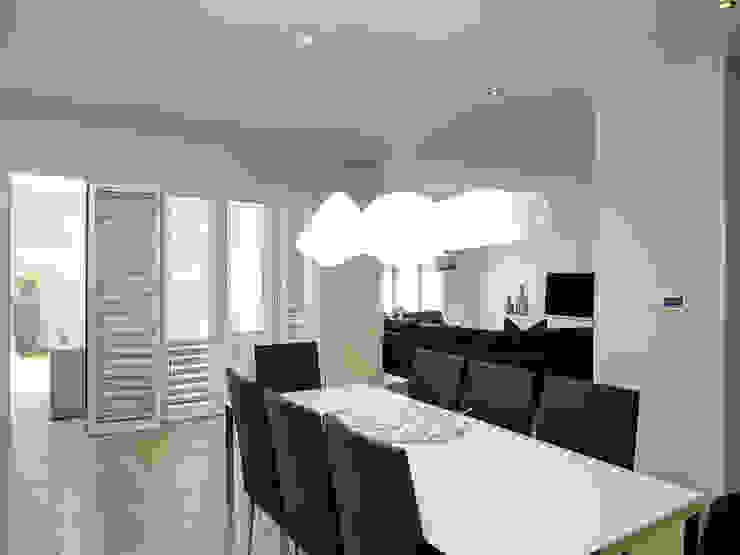 House Morningside Minimalist dining room by Principia Design Minimalist