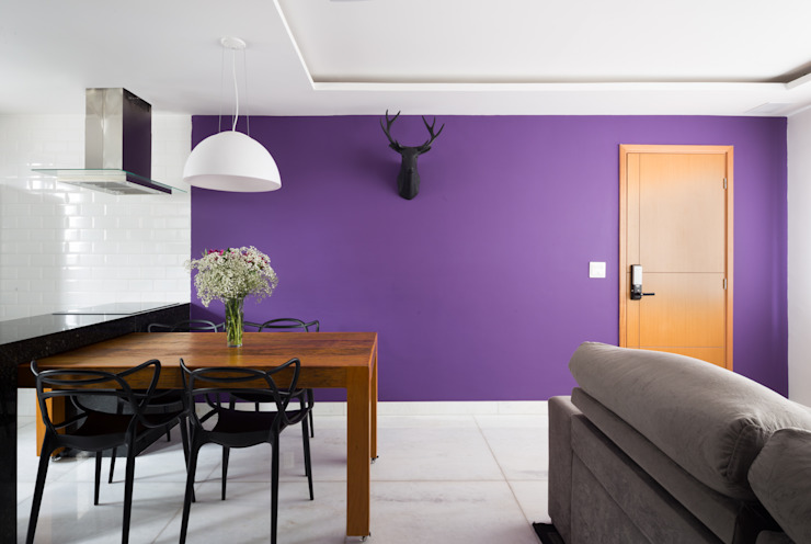 Apartamento Santa Efigênia Daniel Carvalho Arquiteto Salas de estar escandinavas