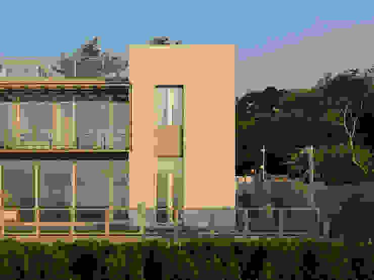 莊宅 House C, Taipei 現代房屋設計點子、靈感 & 圖片 根據 何侯設計 Ho + Hou Studio Architects 現代風