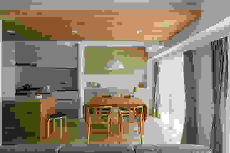 ナチュラルなインテリア 北欧家具といっしょ 株式会社エキップ オリジナルデザインの ダイニング 木 木目調