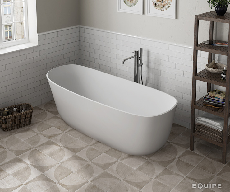 Modern bathroom by Equipe Ceramicas Modern Ceramic