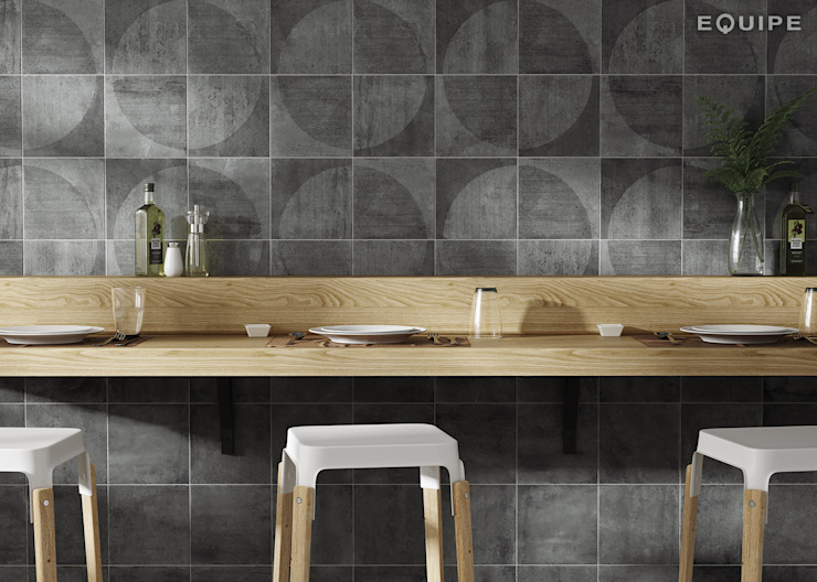 Modern Dining Room by Equipe Ceramicas Modern Ceramic