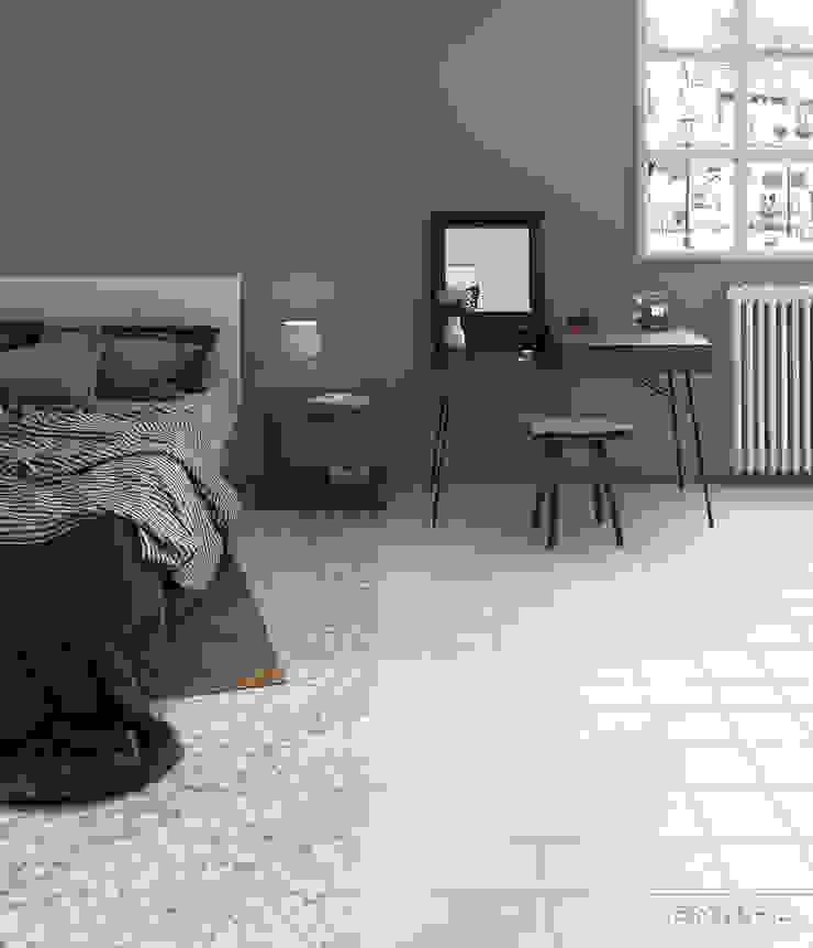 Urban Dormitorios de estilo mediterráneo de Equipe Ceramicas Mediterráneo Cerámico