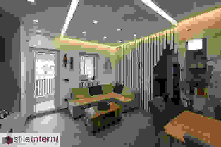 Moderne woonkamers van stile interni srl Modern