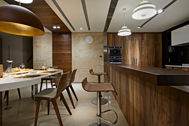 bar Modern dining room by CCL Architects & Planners林祺錦建築師事務所 Modern