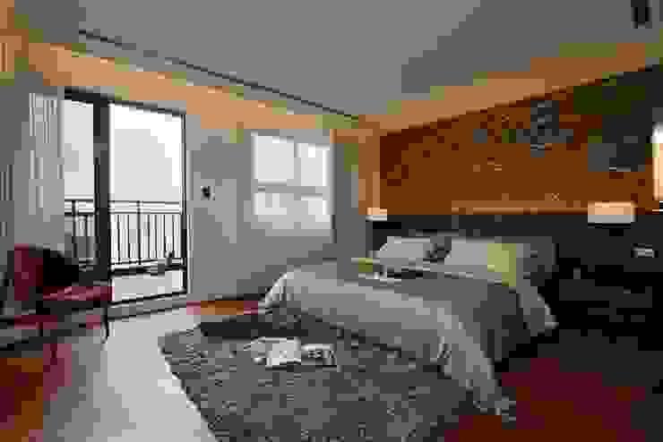 Master room 根據 CCL Architects & Planners林祺錦建築師事務所 現代風