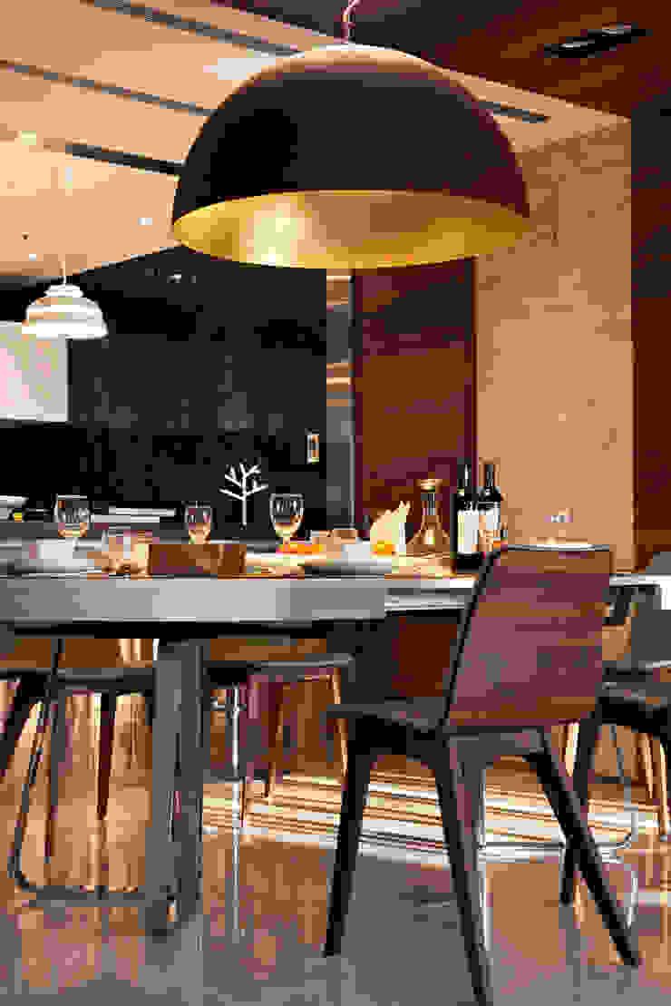 Dining room 根據 CCL Architects & Planners林祺錦建築師事務所 現代風