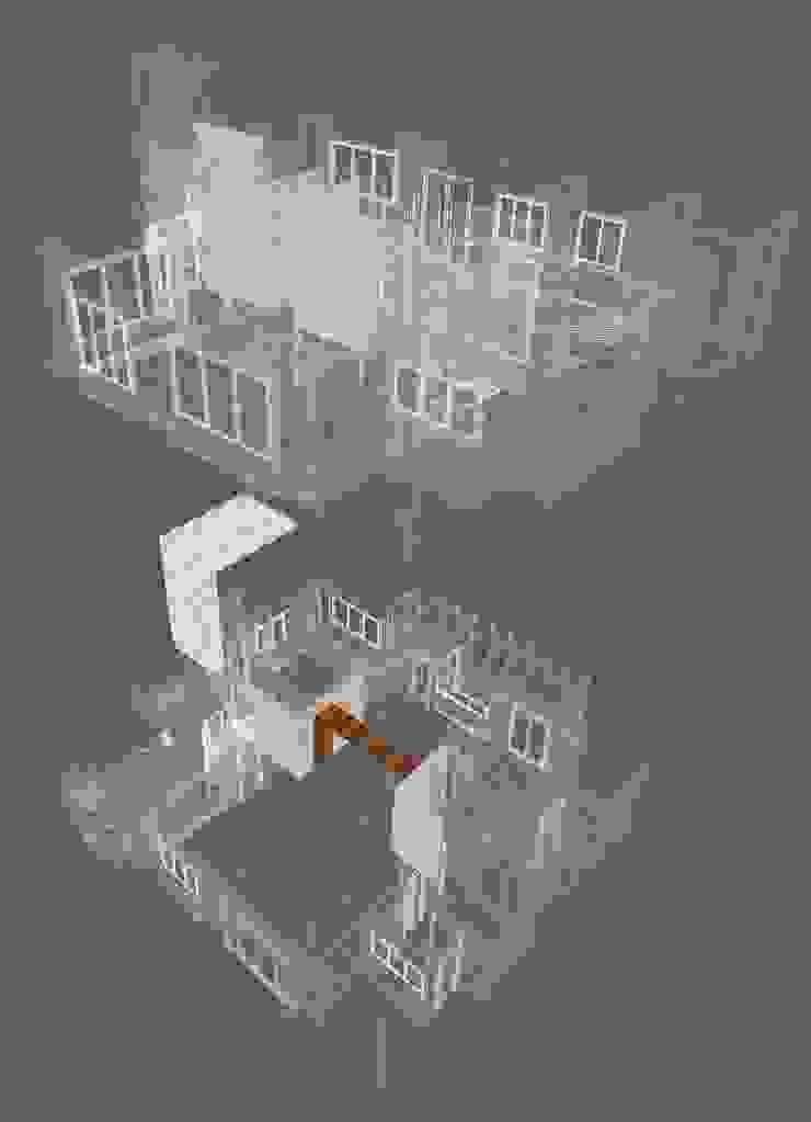 diagram: 現代  by CCL Architects & Planners林祺錦建築師事務所, 現代風