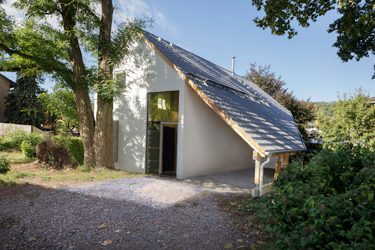 Rumah Modern Oleh Planungsgruppe Korb GmbH Architekten & Ingenieure Modern Kayu Wood effect