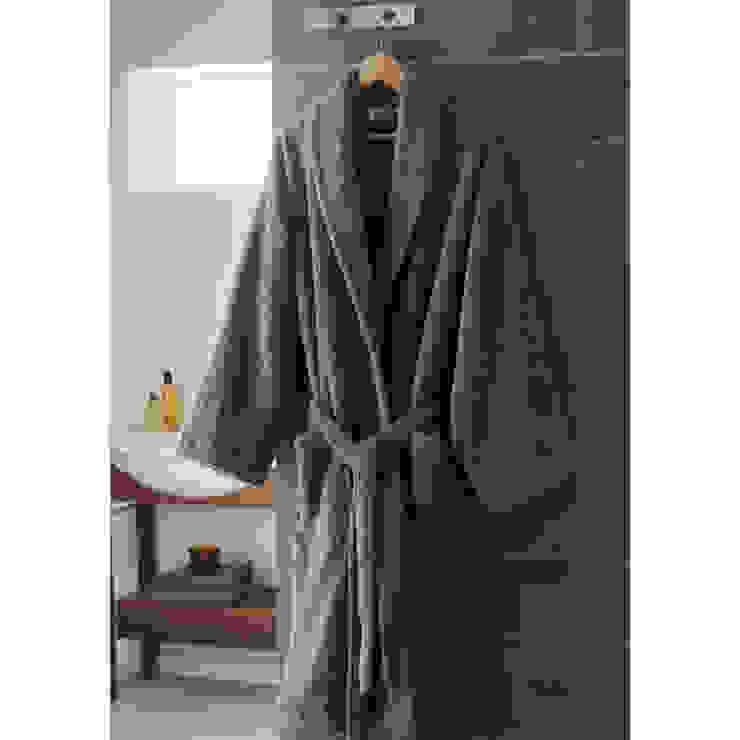 Zero-Twist Cotton Bathrobe King of Cotton BathroomTextiles & accessories Cotton Grey