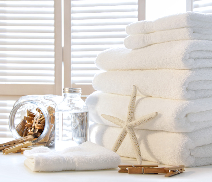 Natural Combed Cotton 650gsm Towels King of Cotton BathroomTextiles & accessories Cotton White