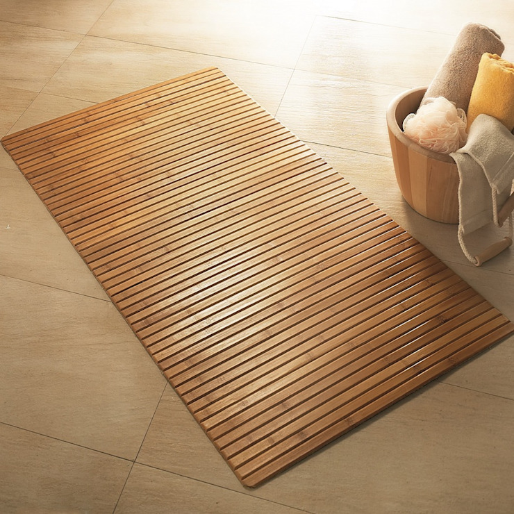 Bamboo Wooden Bath Mat King of Cotton BathroomTextiles & accessories