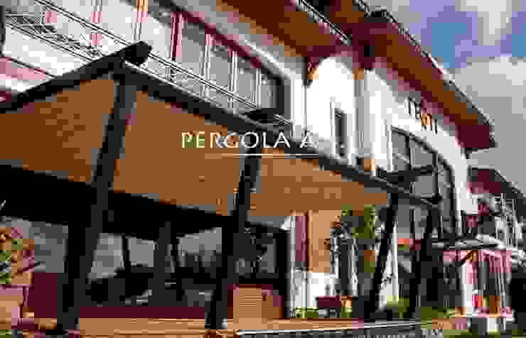 PERGOLA A.Ş. Gastronomy Aluminium/Zinc Black