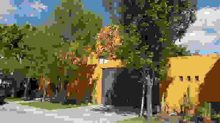 Fachada principal Casas modernas de Alberto M. Saavedra Moderno