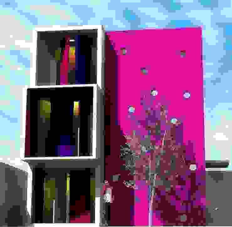 Vivienda Romeros Factor 44 Arquitectura Casas minimalistas Concreto Rosa