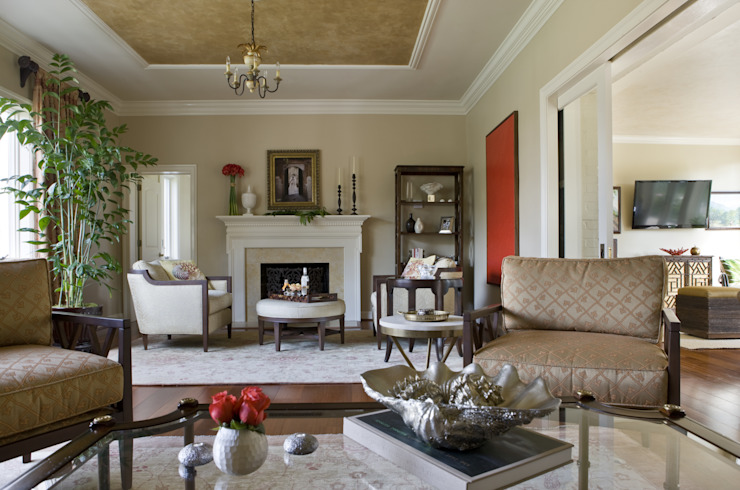 Caribbean Dream - Living Room by Lorna Gross Interior Design Classic