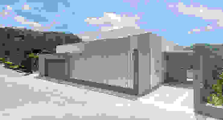 陽明山鄭宅 House C 現代房屋設計點子、靈感 & 圖片 根據 何侯設計 Ho + Hou Studio Architects 現代風