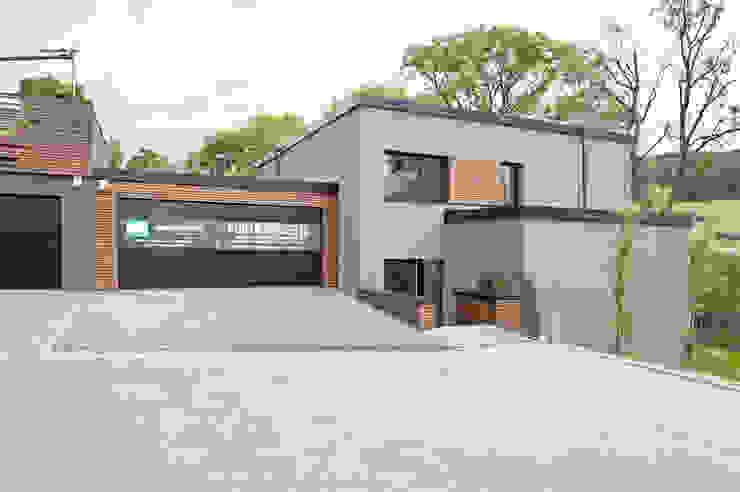 Moderne huizen van massive passive Modern