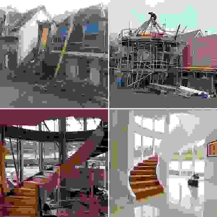 Draethen Farm House Conversion 現代房屋設計點子、靈感 & 圖片 根據 Smarta 現代風