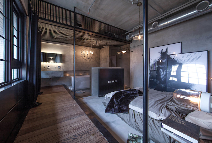 璧川設計有限公司 Industrial style bedroom