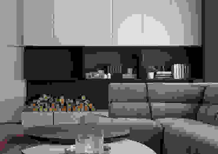 Ruang Keluarga oleh 璧川設計有限公司, Minimalis