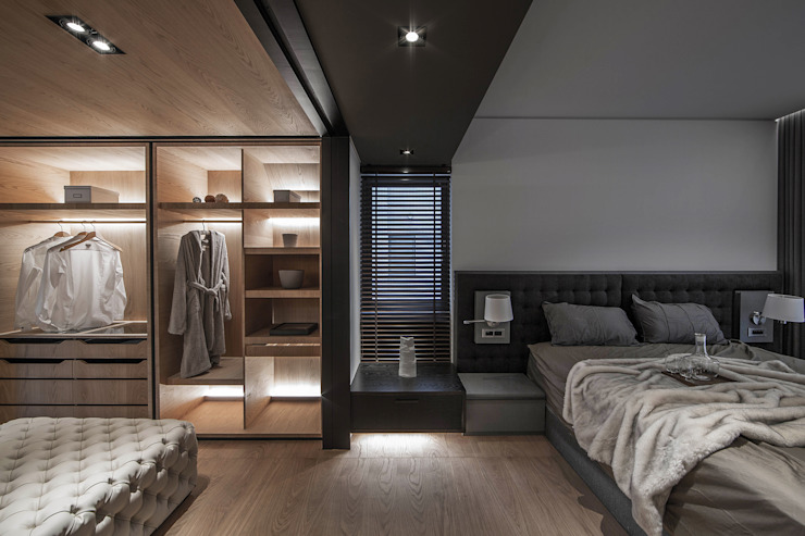 木沐 Wood Present 璧川設計有限公司 臥室