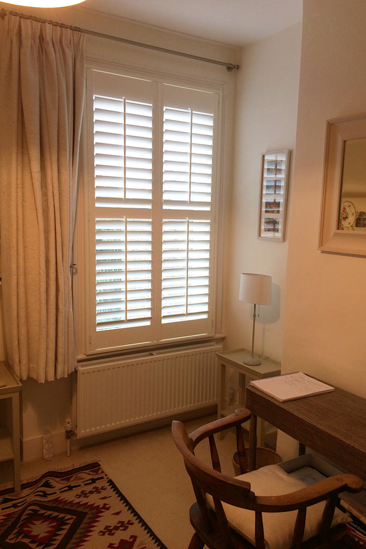 Bedroom Shutters By Plantation Shutters Ltd Homify