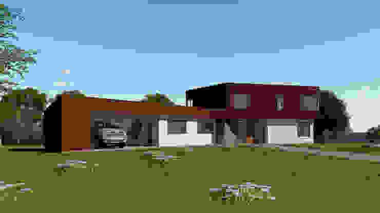 EjeSuR Arquitectura Modern Houses