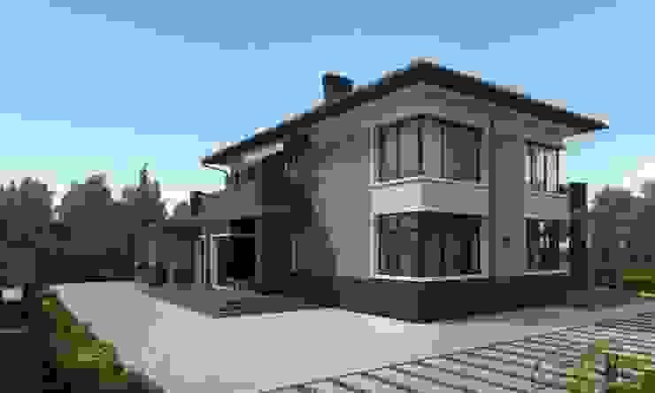 Rumah Minimalis Oleh Компания архитекторов Латышевых 'Мечты сбываются' Minimalis