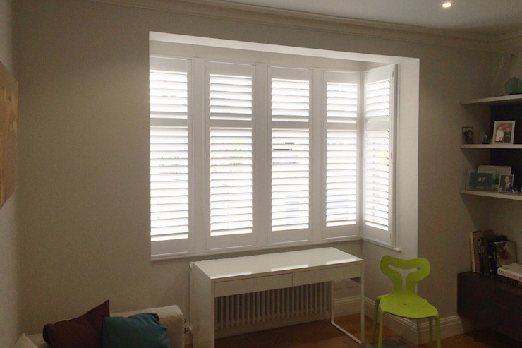 Living Room Shutters Von Plantation Ltd Homify