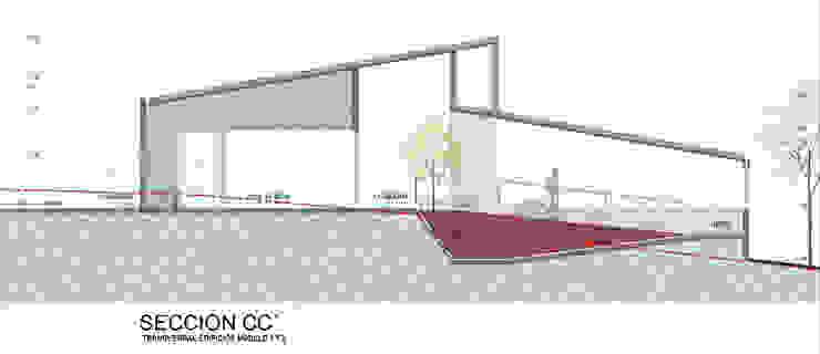 Centro de Bienestar Animal [La Perla] Bodegas de estilo moderno de @tresarquitectos Moderno