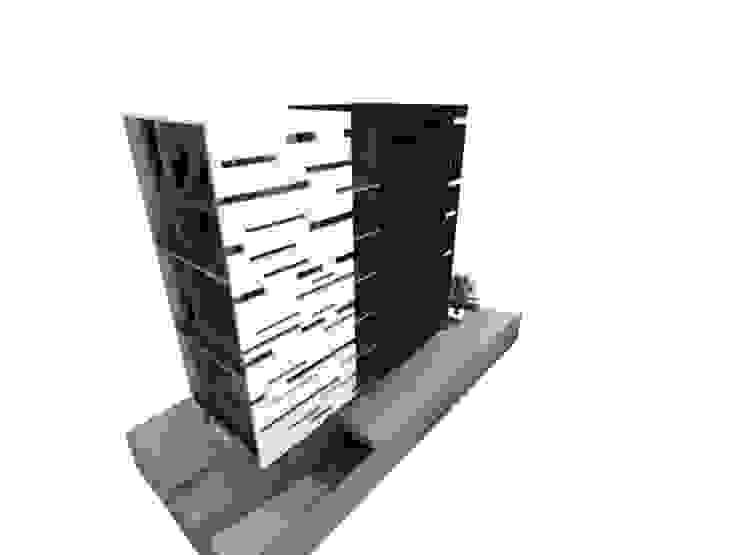 L _ 24 - Sur _ Apartamentos LoftsL _ 24 - Sur _ Apartamentos Lofts Casas de estilo industrial de @tresarquitectos Industrial