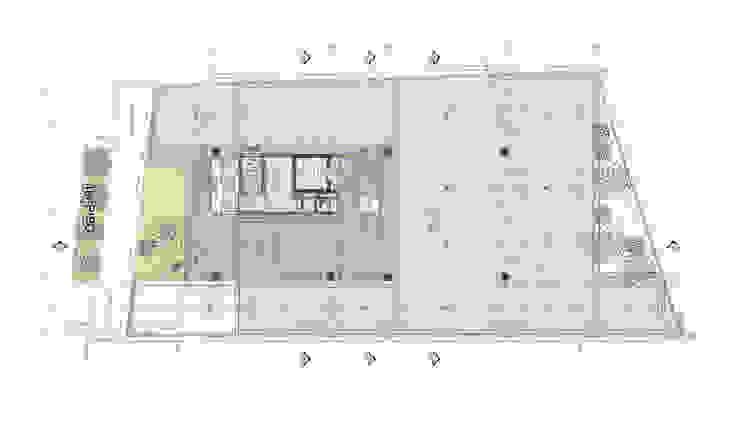 Maisons industrielles par @tresarquitectos Industriel