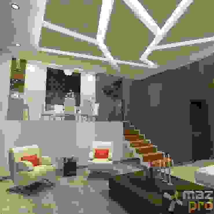 모던스타일 거실 by Mazpro Arquitectura 모던