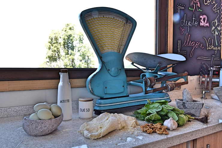 Casa Vichuquén Cocinas de estilo moderno de AtelierStudio Moderno