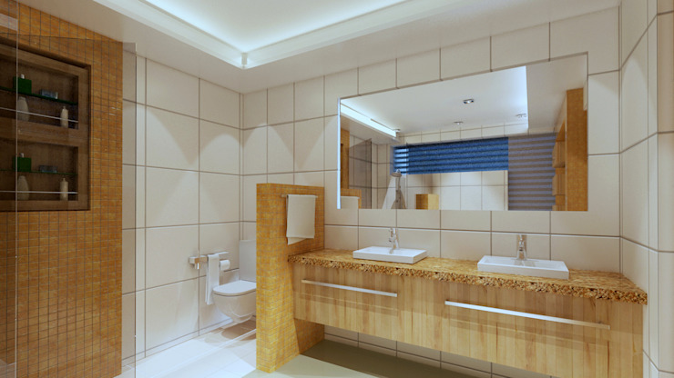 Bathroom by CouturierStudio,
