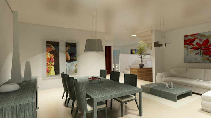 Modern Dining Room by CouturierStudio Modern