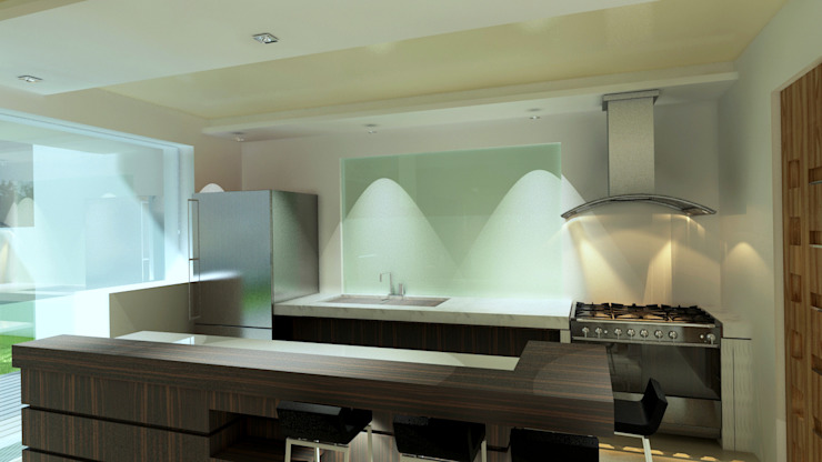 Modern kitchen by CouturierStudio Modern