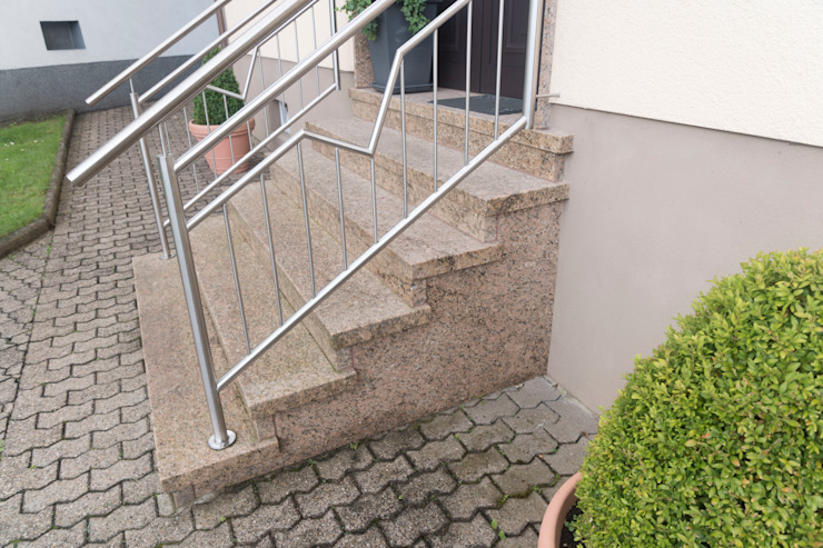 Casas de estilo rústico de BOOR Bäder, Fliesen, Sanitär Rústico Granito