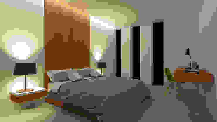 Dormitorios de estilo  por A2 arquitectura interior, Minimalista