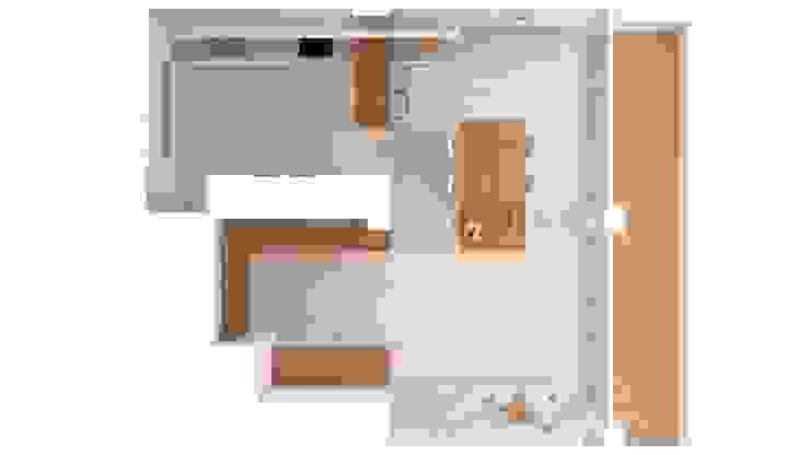 Projecte per reformar la zona de cuina-menjador Cocinas de estilo minimalista de A2 arquitectura interior Minimalista