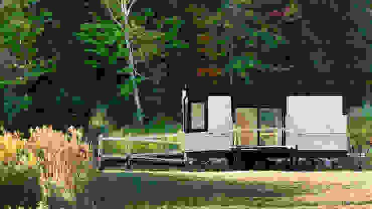 Casas modernas por Chibi Moku Moderno Derivados de madeira Transparente