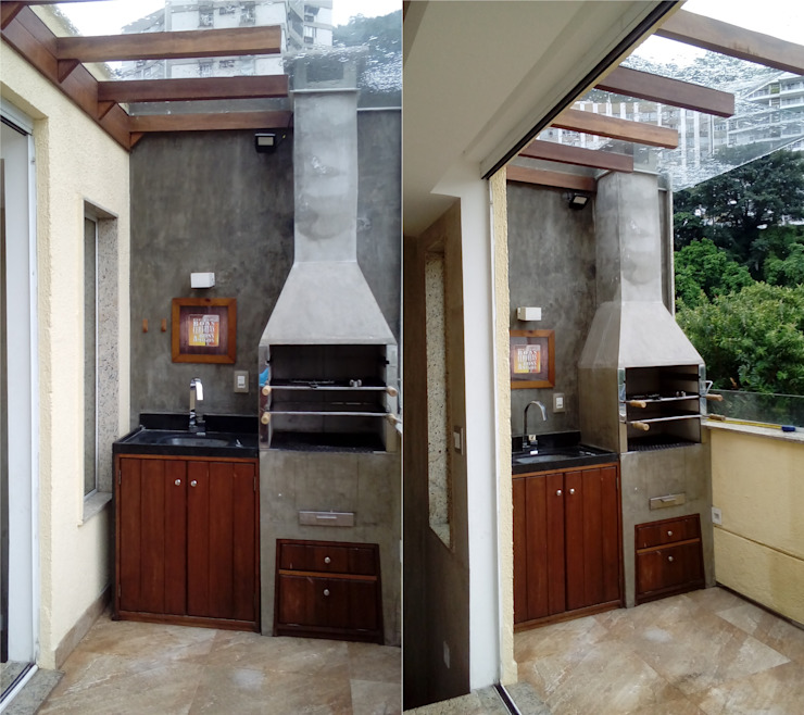 Terrazas de estilo  por Margareth Salles,