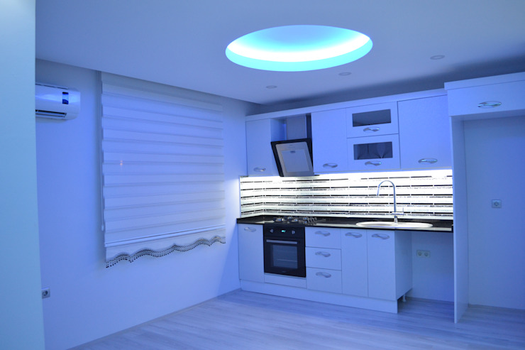 Cocinas modernas de Damla Yapı Teknik Moderno